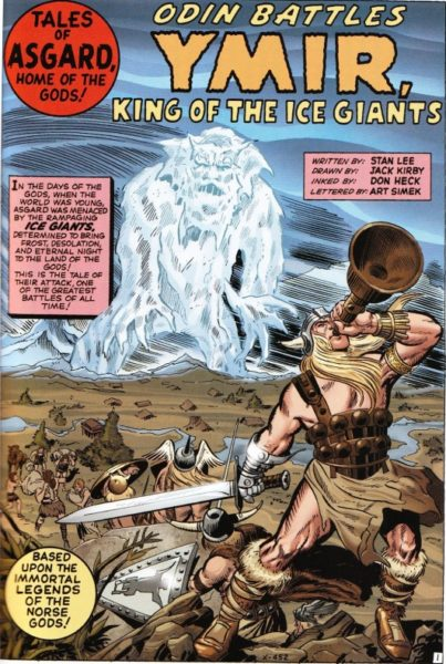 Thor Relatos de Asgard