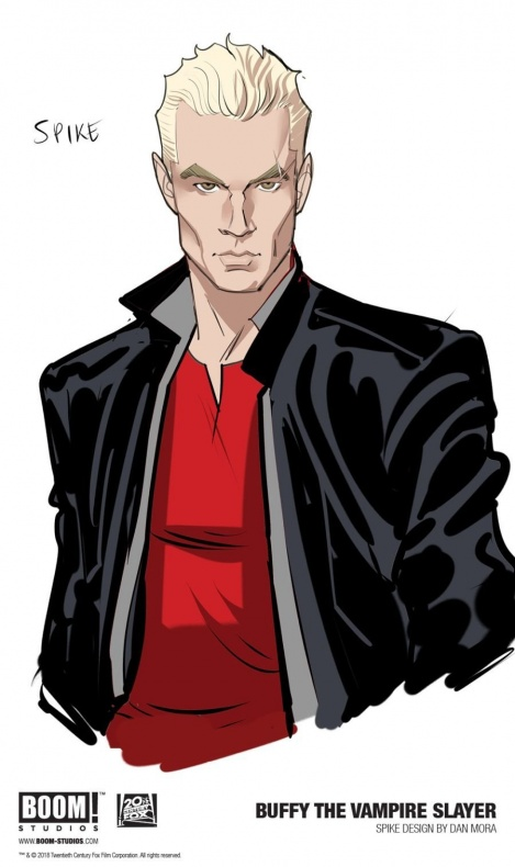 buffyvampireslayer 001 characterdesign spike promo 1146810