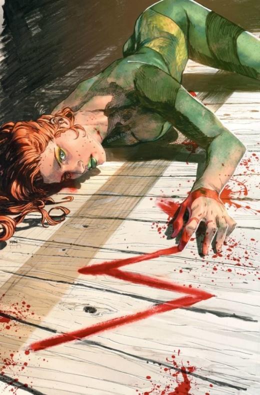 La polémica portada del Heroes in Crisis #7 con Poison Ivy muerta