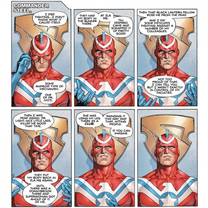 Commander Steel Heroes in Crisis 1