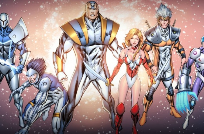 Extreme Universe - Rob Liefeld - Netflix