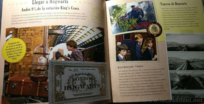 hogwarts pagina billete king cross
