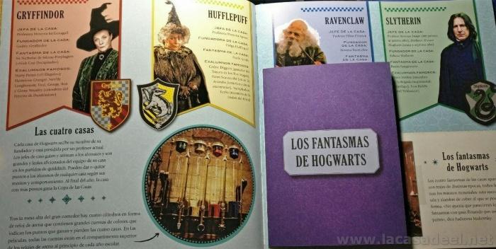 hogwarts pagina casas