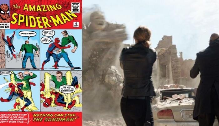 Spider-Man - Lejos de casa (Sand Man - ASM #4 Sep 1963)