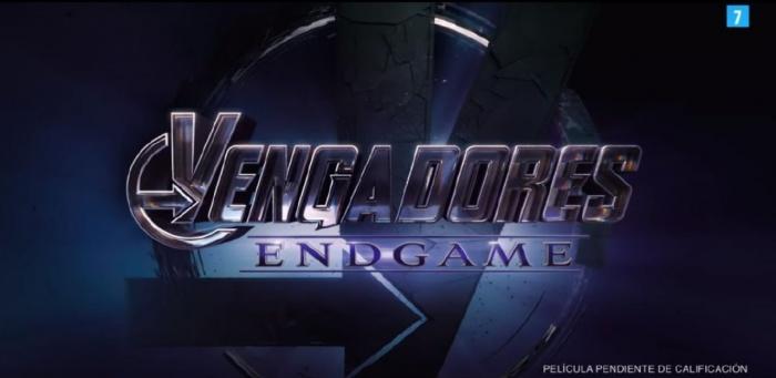 Vengadores: Endgame - logo español