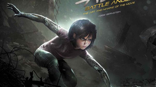 Alita Battle Angel The Art and Making of the Movie Cover