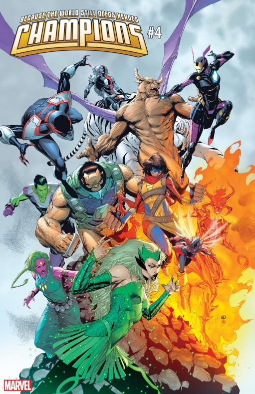 Champions War of Realms variant