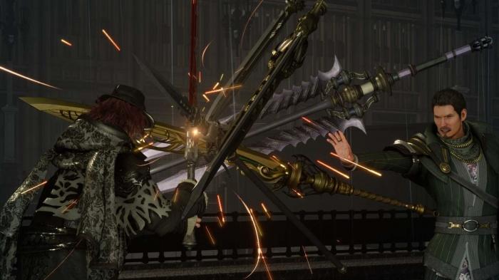 Enfrentamiento Ardyn vs. Regis