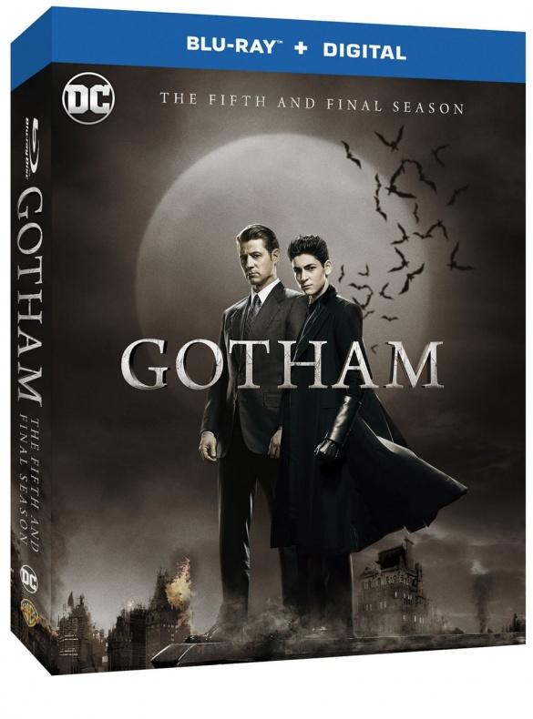 Gotham Season 5 blu ray