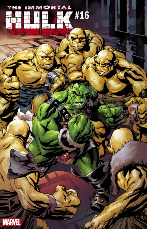 Immortal Hulk War of Realms variant
