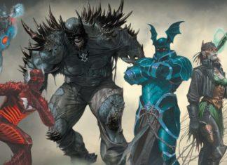 dark knight: metal