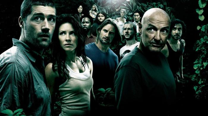 Imagen promocional de la serie Perdidos (Lost), de ABC Entertainment.