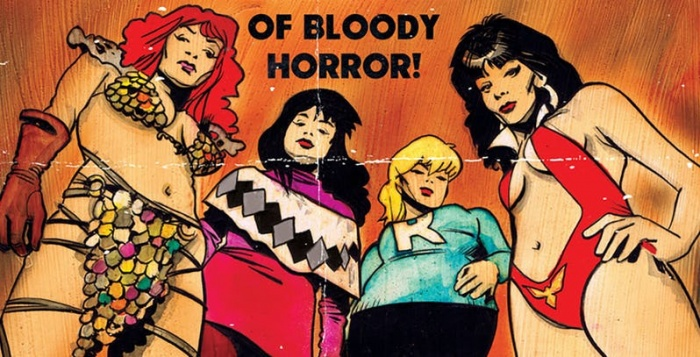 Red Sonja and Vampirella Meet Betty and Veronica feature