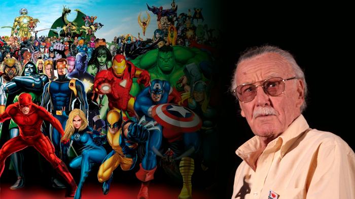 Stan Lee y los superhéroes