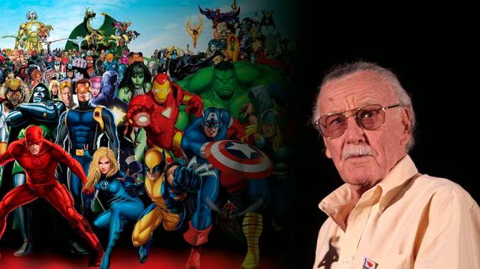 Stan Lee y los superhéroes