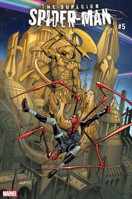 Superior Spider Man War of Realms variant