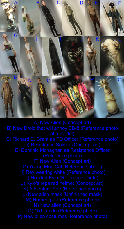 Trajes de Star Wars Episodio IX