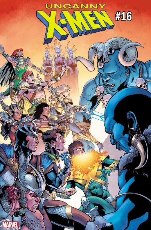 Uncanny X Men War of Realms variant 2