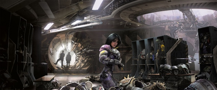 alita battle angel the art and making of the movie 1