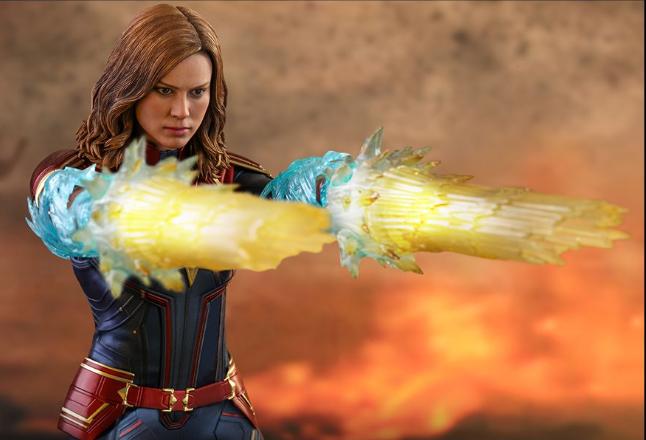 Capitana Marvel Hot Toys