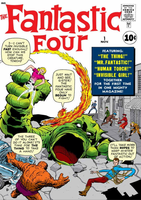 Cuatro Fantásticos 1