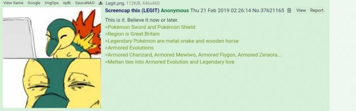Filtración Pokémon