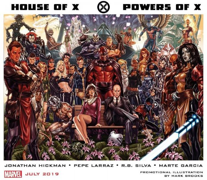 Hickman - Larraz - Silva - García - House of X - Power of X