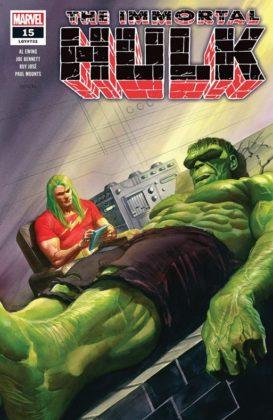 Immortal Hulk portada