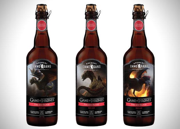 Juego de Tronos - cerveza Fire and Blood