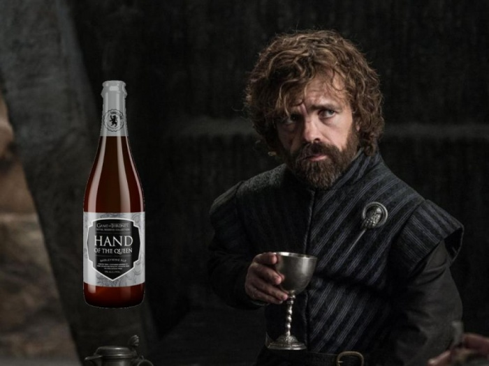 Juego de Tronos - cerveza Hand of the Queen