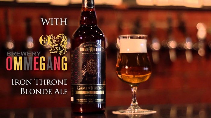 Juego de Tronos - cerveza Iron Throne