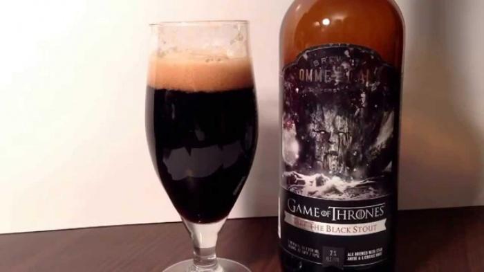 Juego de Tronos - cerveza Take the Black Stout