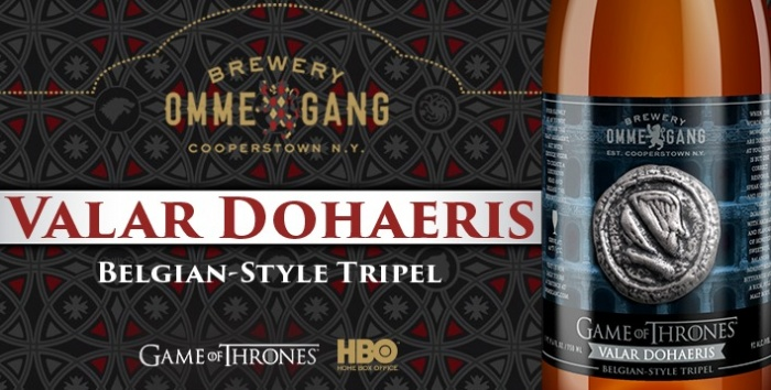 Juego de Tronos - cerveza Valar Dohaeris