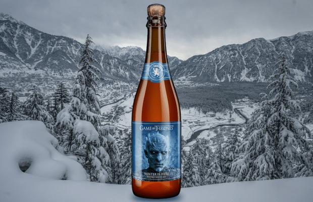 Juego de Tronos - cerveza Winter is Here
