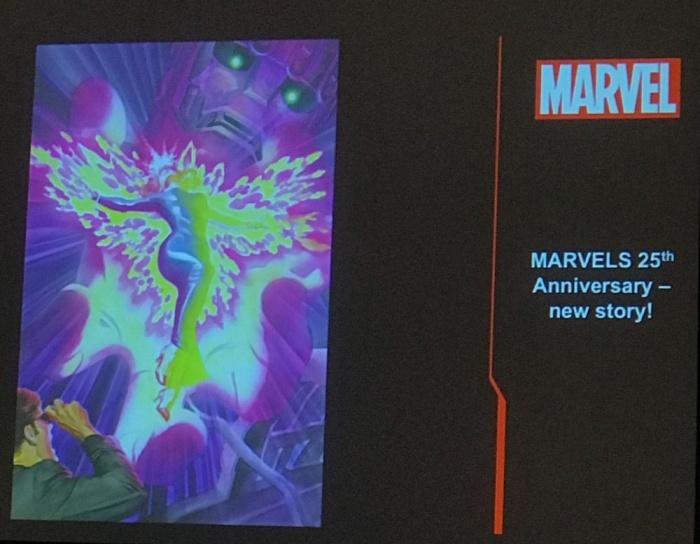Kurt Busiek y Alex Ross - nueva historia de Marvels por su 25 aniversario