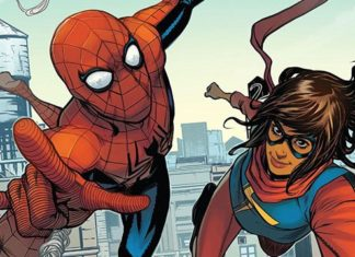 Spiderman y Ms. Marvel