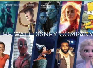 The Walt Disney Company web