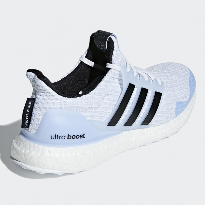 adidas ultra boost game of thrones white walkers EE3708 3