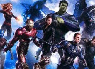 Vengadores: Endgame - diseño conceptual con la Capitana Marvel