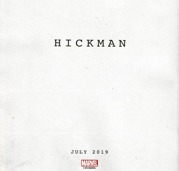 Hickman - Marvel - julio