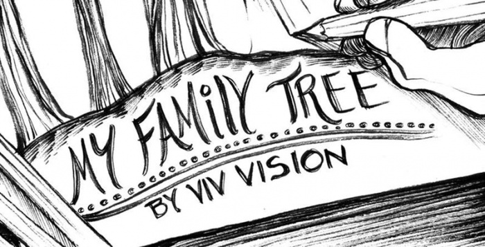marvel the vision family tree header