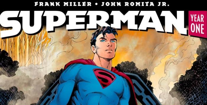 superman year one header