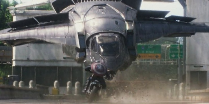 Captain America The Winter Soldier Quinjet