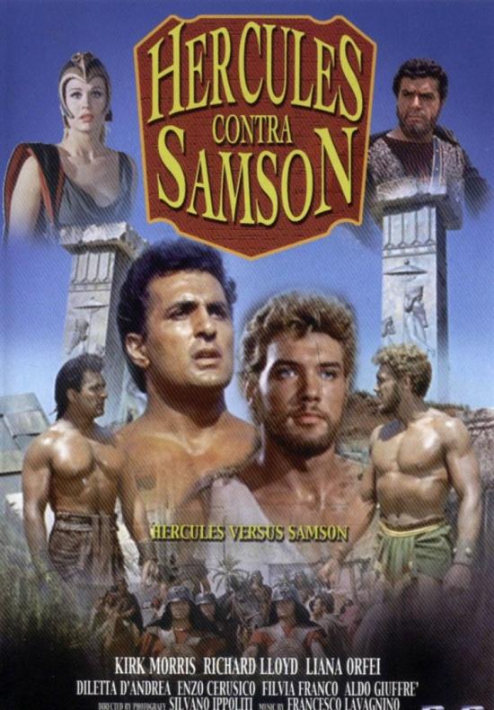 Hércules contra Sansón cartel