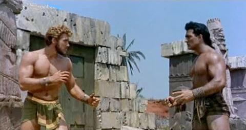 Hércules contra Sansón