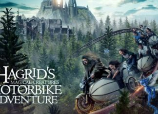 Harry Potter - Hagrid Motorbike