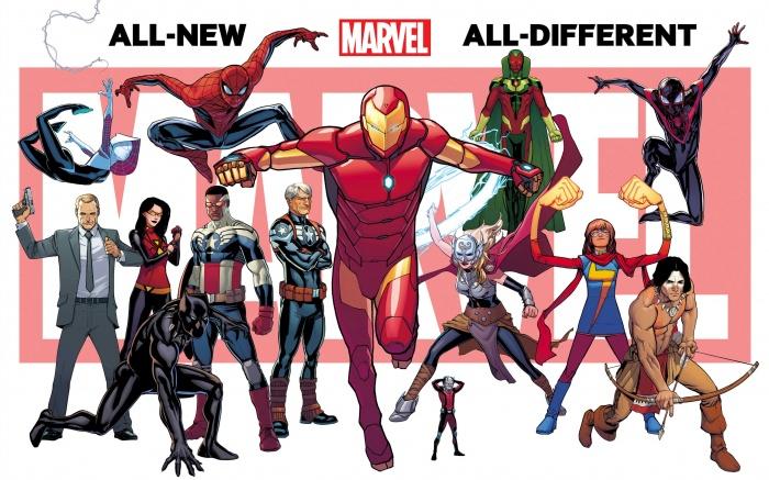 Marvel Diversidad Principal