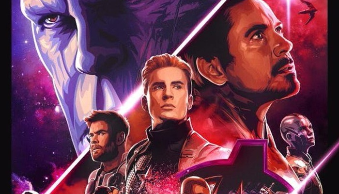 Vengadores Endgame - póster Dolby