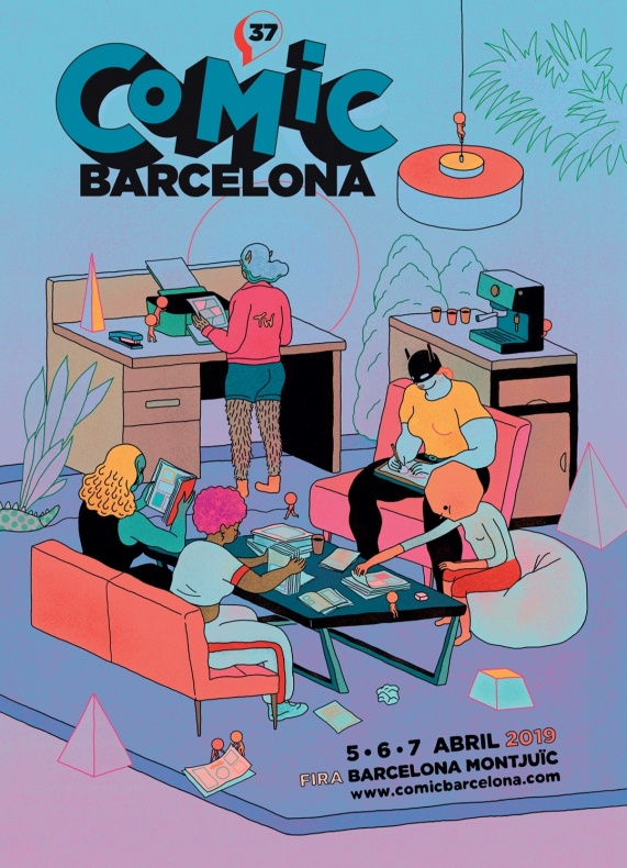 37 Comic Barcelona Ficomic cartel