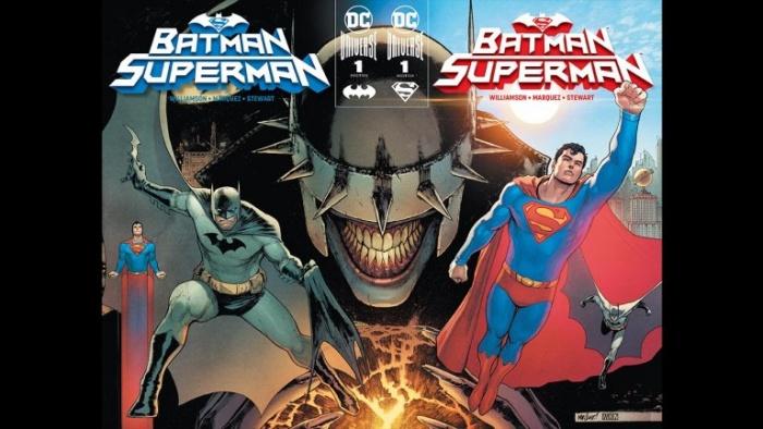 Batman/Superman portada